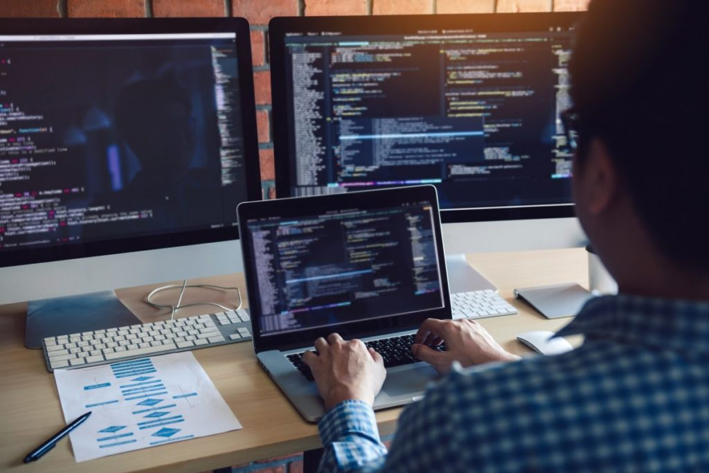 métier de développeur web