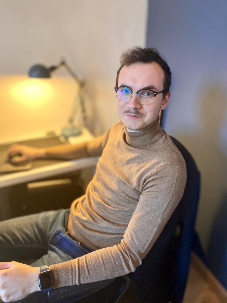 Alexis Lepage co-gérant Numidev